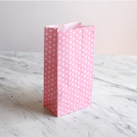 Pink Dotty Treat Bags - Pack of 10