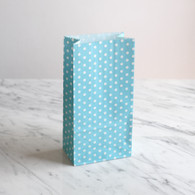 Blue Dotty Treat Bags - Pack of 10