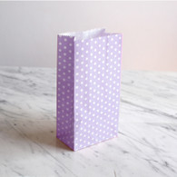 Lavender Dotty Treat Bags - Pack of 10