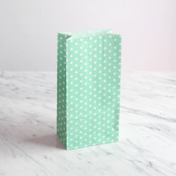 Mint Dotty Treat Bags - Pack of 10