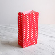 Red Dotty Treat Bags - Pack of 10