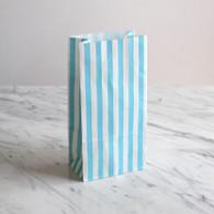 Blue Stripe Treat Bags - Pack of 10