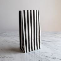 Black Stripe Treat Bags - Pack of 10