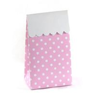 Sambellina Pink Polka Dot Treat Boxes - Pack of 12