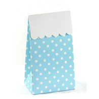 Sambellina Blue Polka Dot Treat Boxes - Pack of 12