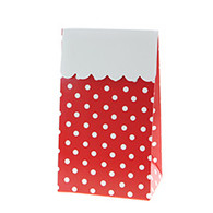 Sambellina Red Polka Dot Treat Boxes - Pack of 12