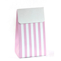 Sambellina Pink Stripe Treat Boxes - Pack of 12
