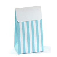 Sambellina Blue Stripe Treat Boxes - Pack of 12
