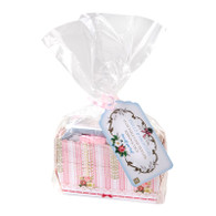Frills & Frosting Mini Loaf Pan Gift Kit - Pack of 12