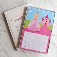 Sambellina Princess Invitations - Pack of 12