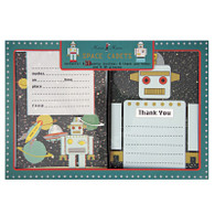 Space Cadet Invitations & Thank You Cards - 16pk (8each)