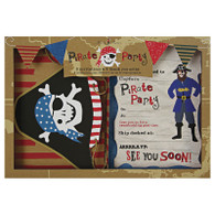 Ahoy There! Invitations & Thank You Cards - 16pk (8each)