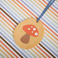 hiPP Gift Tag Toadstool