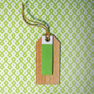 hiPP Habitat Wooden Gift Tag Apple