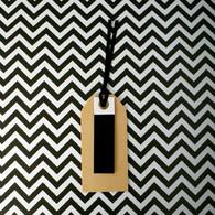 hiPP Habitat Wooden Gift Tag Black