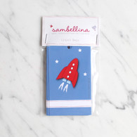 Sambellina Space Rocket Gift Tags - Pack of 12