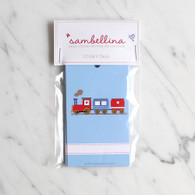 Sambellina Train Gift Tags - Pack of 12