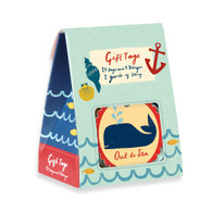 Galison Out to Sea Gift Tags - Pack of 24