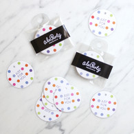 Confetti Dot Round Just For You Gift Tags - Pack of 10
