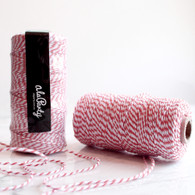 Red Bakers' Twine 100m Spool