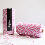 Hot Pink Bakers' Twine 100m Spool