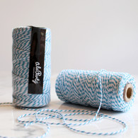 Blue Bakers' Twine 100m Spool