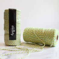 Lime Green Bakers' Twine 100m Spool