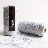 Light Grey Bakers' Twine 100m Spool