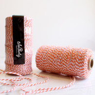 Orange Bakers' Twine 100m Spool