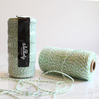 Light Green Bakers' Twine 100m Spool