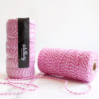 Double Pink Bakers' Twine 100m Spool