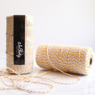 Sunshine Yellow Bakers' Twine 100m Spool