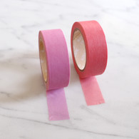 Candy Coloured Plain Washi Tape, Pinks - 10m Roll