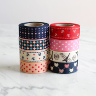 Patterned Fabric Tape -1.8m Roll