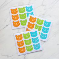 Candy Bear Stickers - 45 Stickers