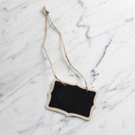 Double Side Hanging Blackboard 6 x 8.5 cm