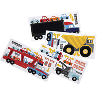 Meri Meri Big Rig Wall Sticker Set including Chalkboard stcker