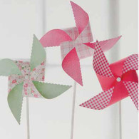 Martha Stewart Vintage Girl Pinwheel Kit - Pack of 6