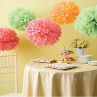 Martha Stewart Colour Burst Pom Pom Set - Pack of 5