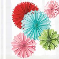 Martha Stewart Modern Festive Giant Paper Flowers - 5pk