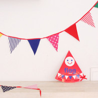 Afrocat Super Cute Fabric Party Flag - 1.5 m