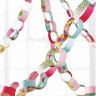 Martha Stewart Modern Festive Paper Chain