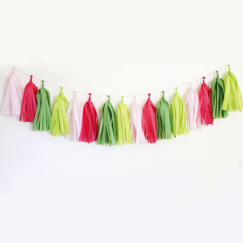 Diy Tassel Garland Kit Preppy