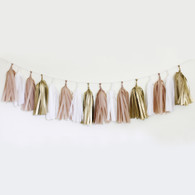 DIY Tassel Garland Kit - Golden