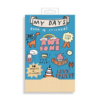 Galison Book of Stickers - My Day