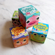 Peaceable Kingdom Critter Cubes Sticker Roll in a Box