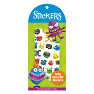 Peaceable Kingdom Mini Stickers Silly Monsters