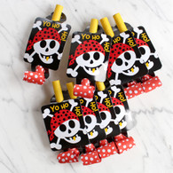 Pirate Fun Blowouts - Pack of 8