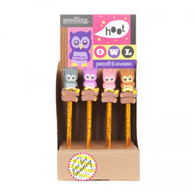 Seedling Hoot Owl Pencil & Eraser