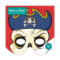 Mudpuppy Make a Mask Pirate - 20 sheets